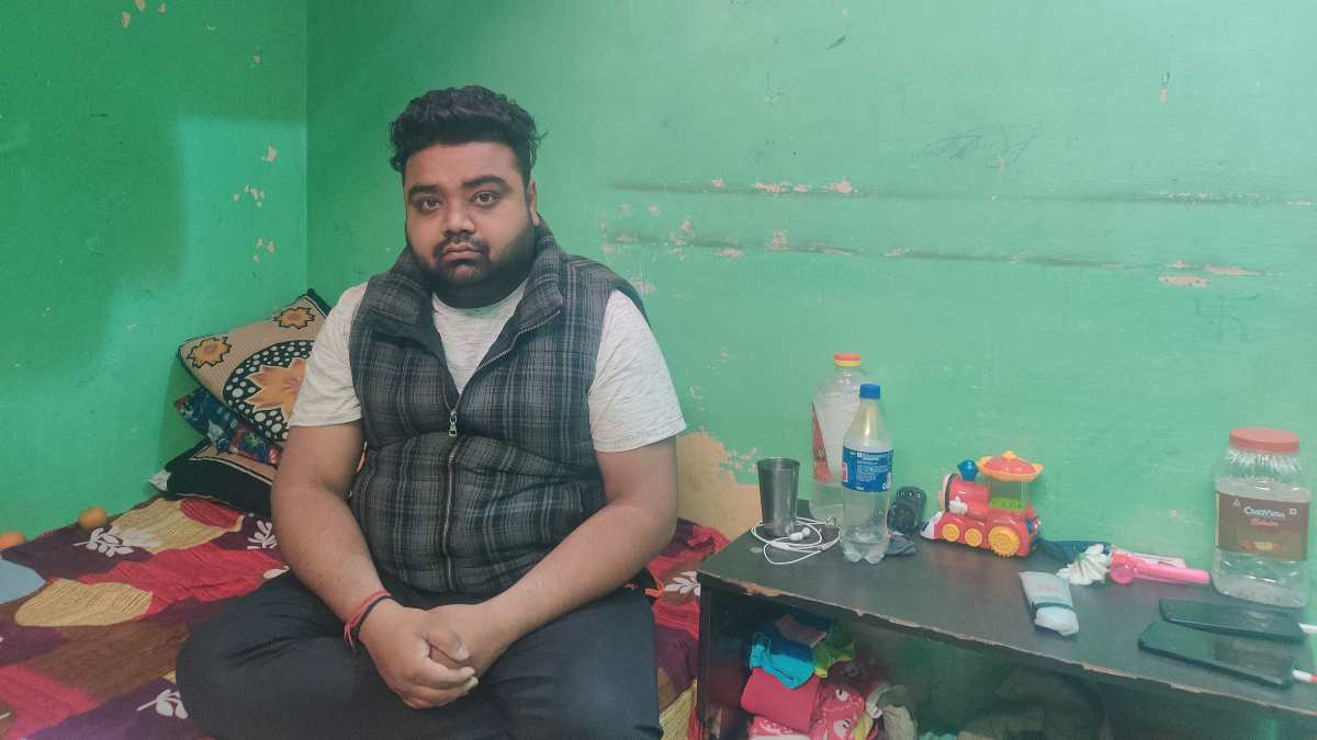 Monu Kumar at his home in Brahmpuri | Bismee Taskin | ThePrint