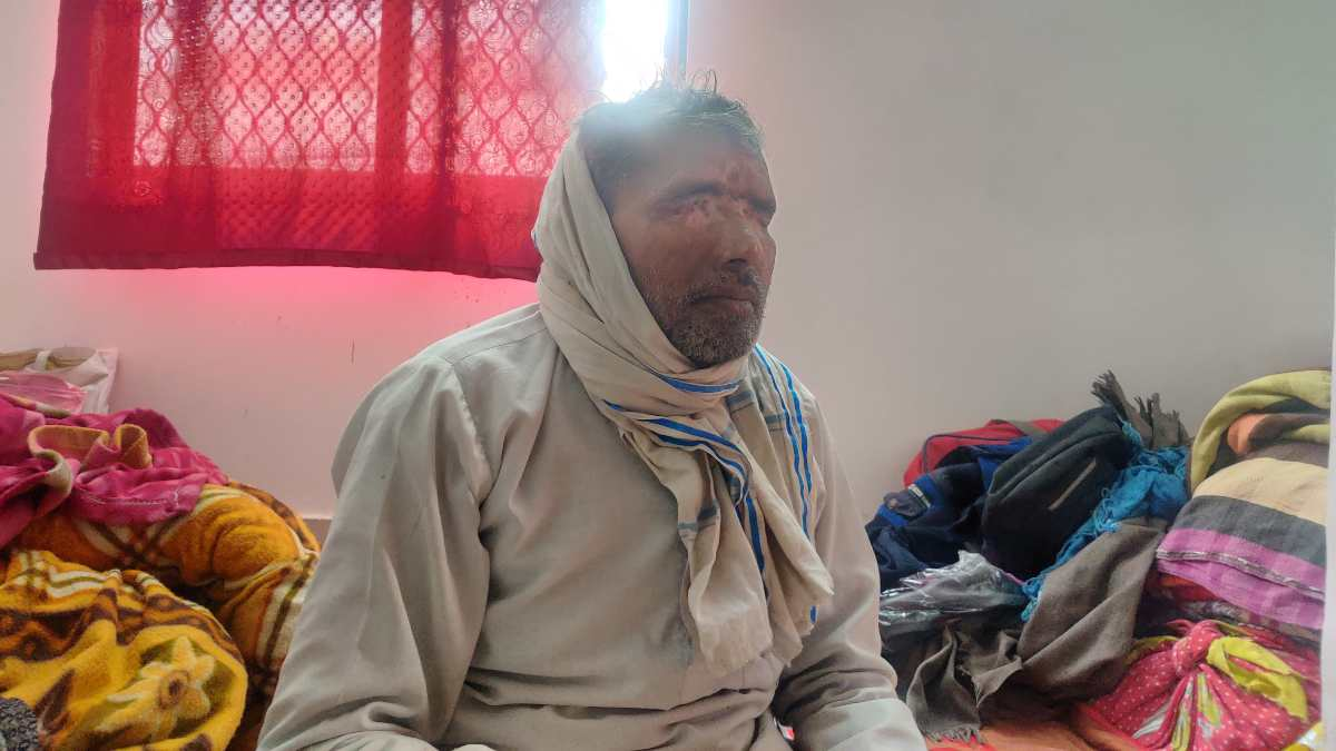 Mohammed Wakeel lost his vision in the violence | Bismee Taskin | ThePrint